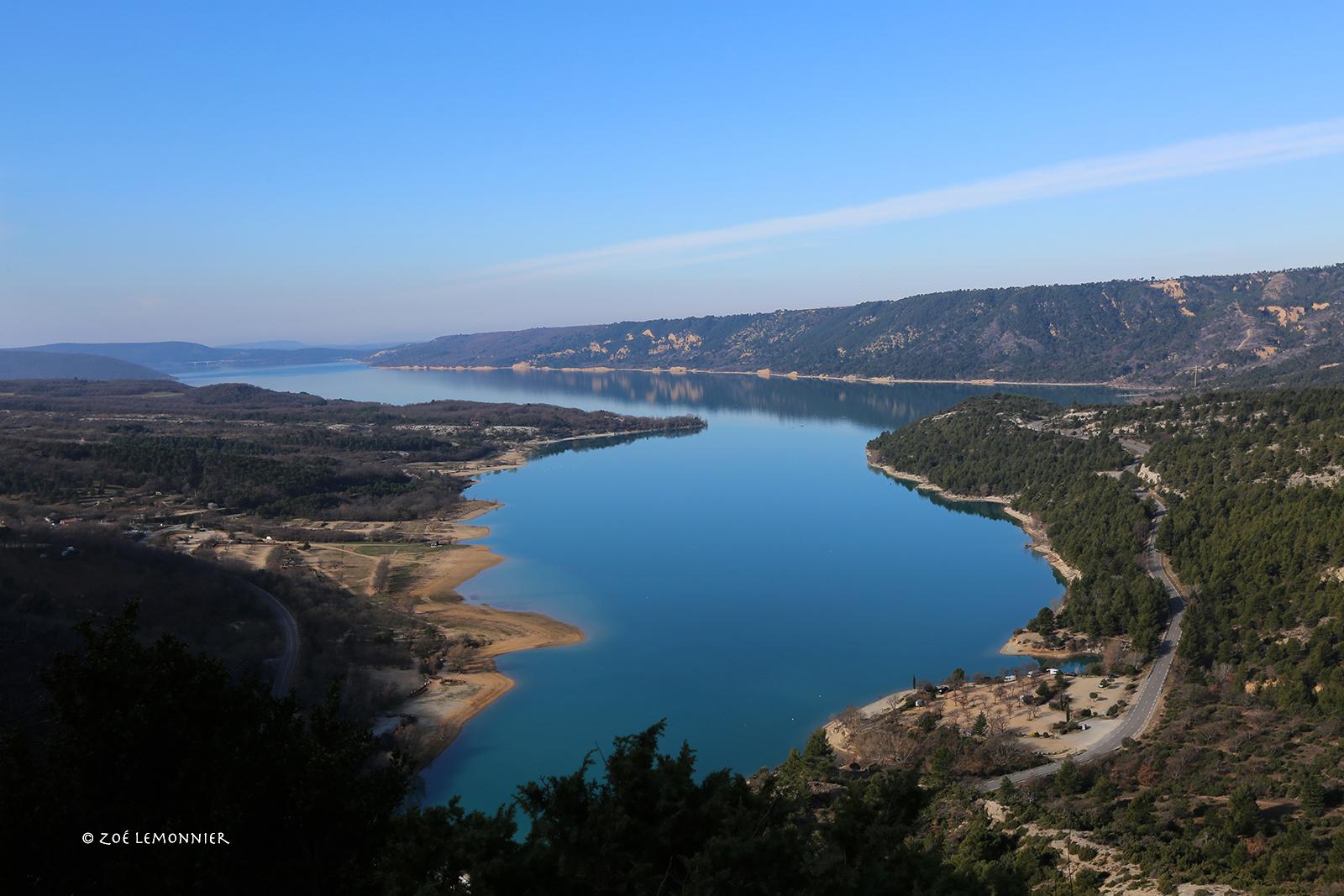 Le Lac de Sainte Croix