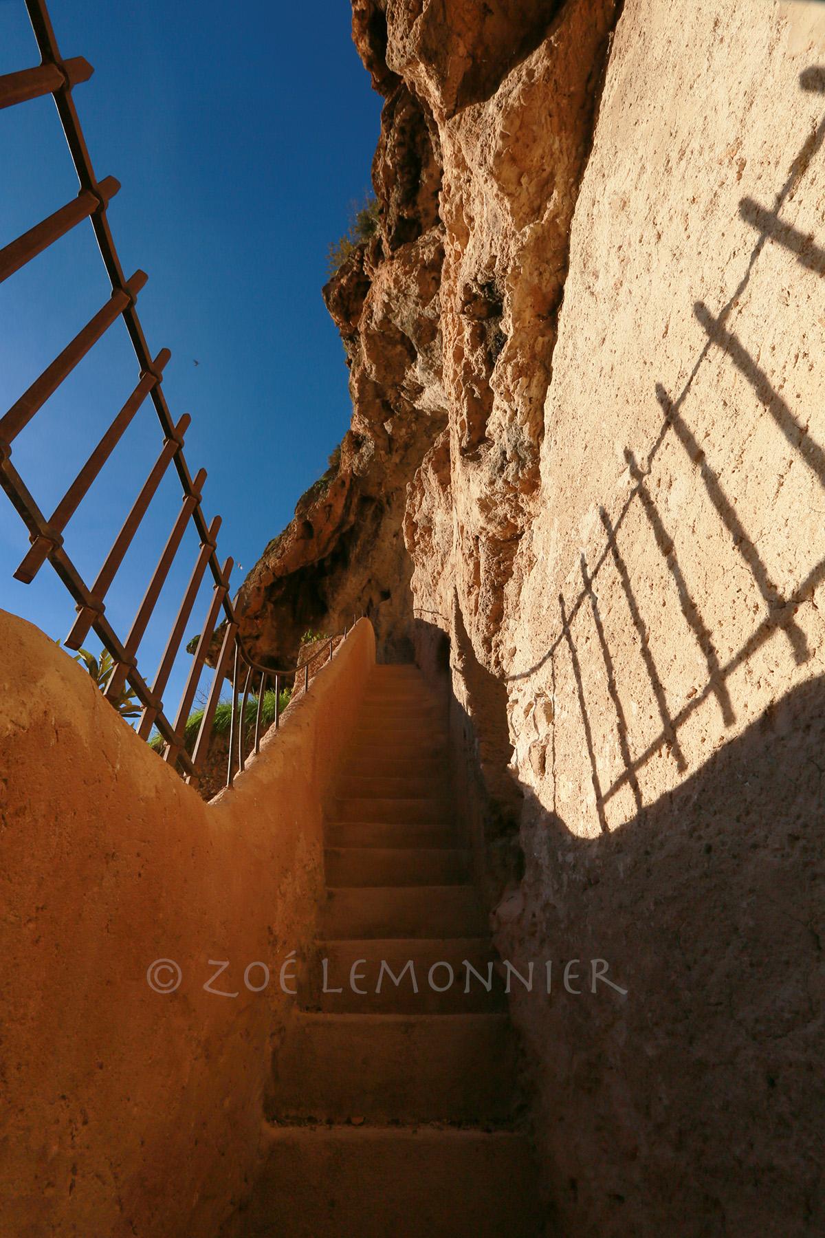 Escalier du Rocher