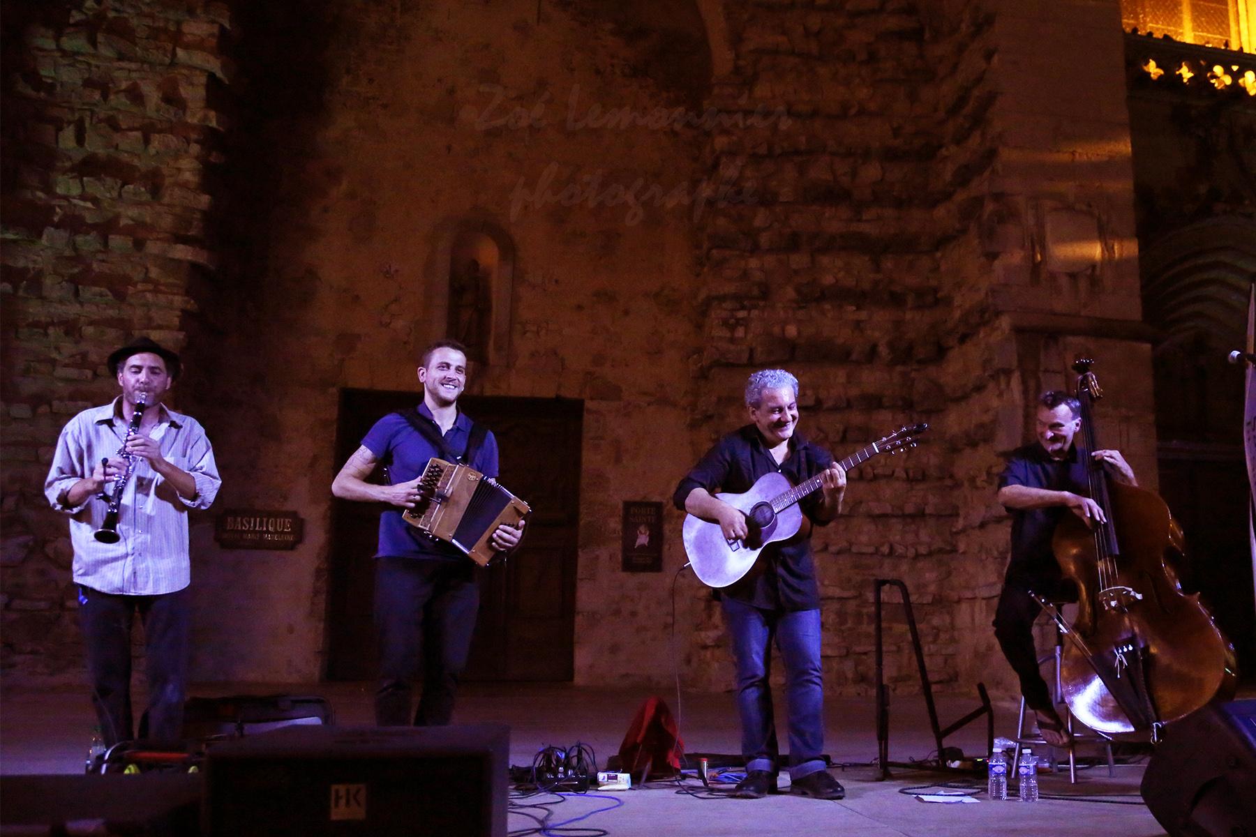 Concert du groupe Muskar XIII à St Maximin