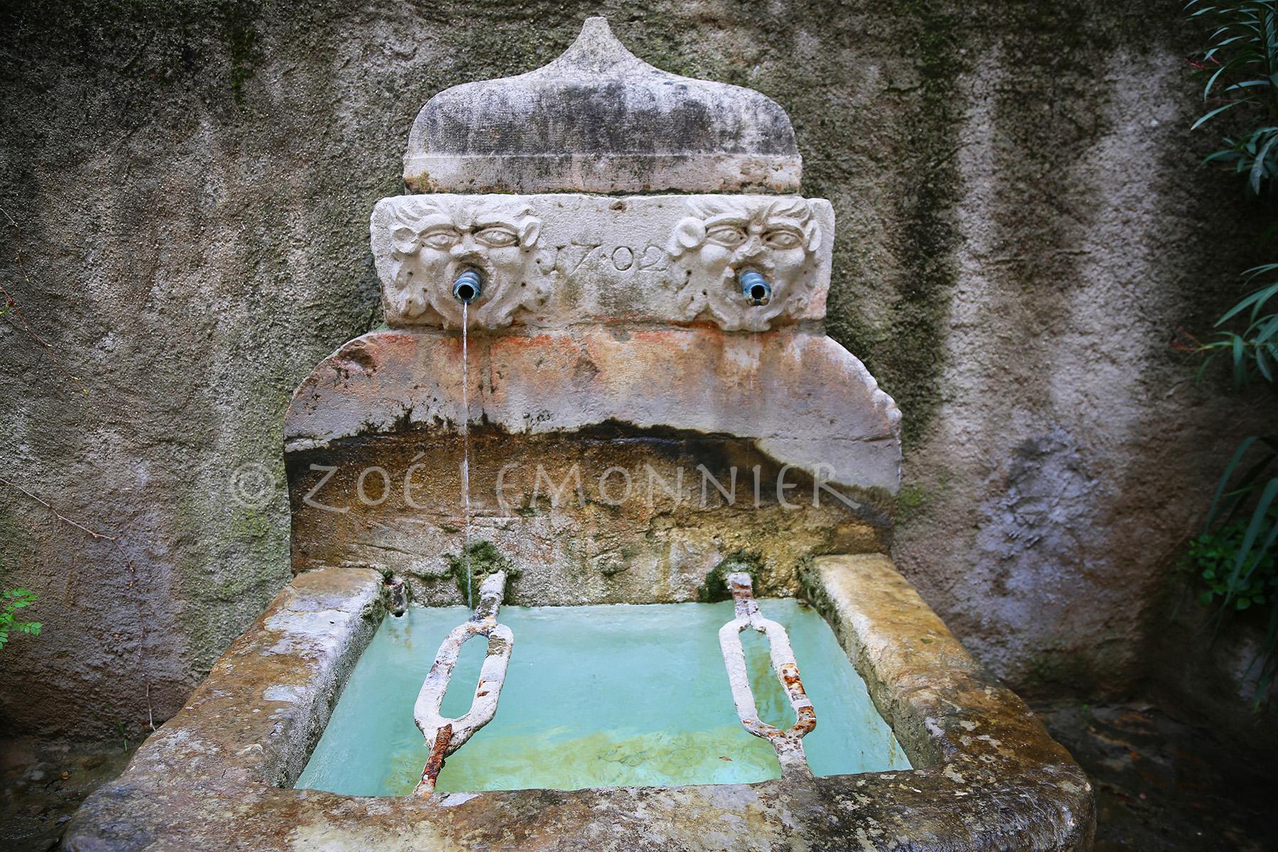 Fontaine de l'école maternelle