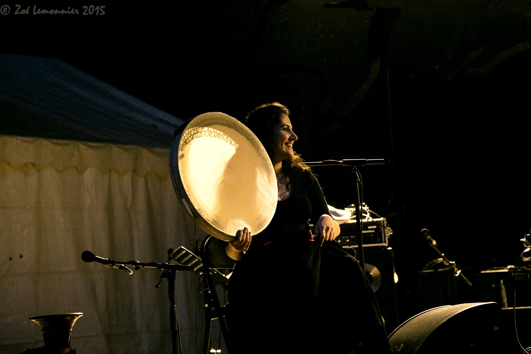 Shadi Fathi musicienne iranienne