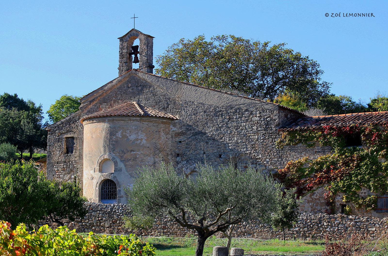 Chapelle Saint Martin à Cotignac (rénovée depuis... dommage)
