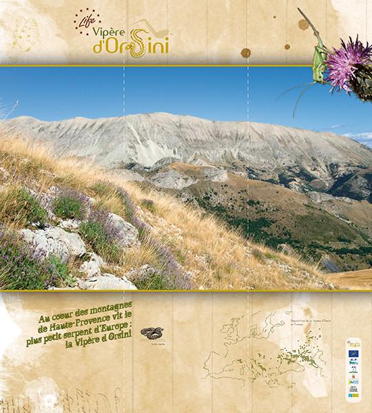 Exposition pour le programme Life Vipère d'Orsini - Agence Régionale Pour l'Environnement en PACA - 2009