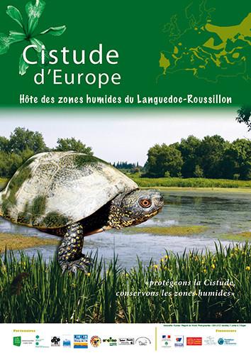 Communication sur la Cistude d'Europe - Conservatoire des Espaces naturels du Languedoc-Roussillon - 2008 à 2012