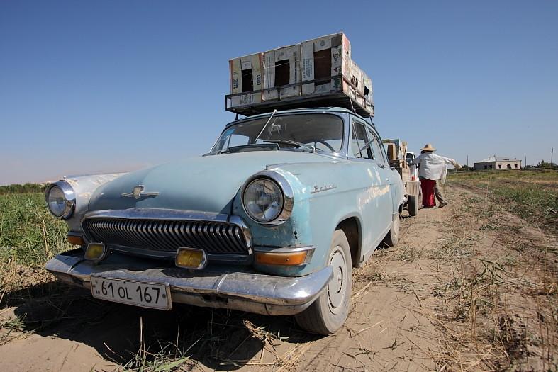 Vieille voiture russe