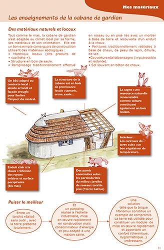 Guide et exposition de l'habitat écologique en Camargue - Parc Naturel Régional de Camargue - 2009