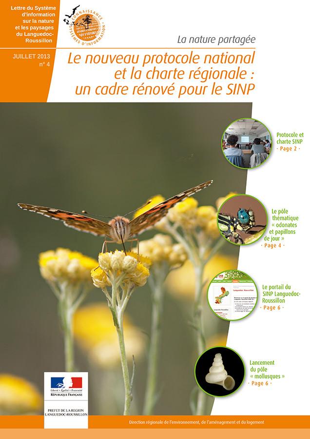 Lettre Nature partagée n°04 - DREAL Languedoc-Roussillon - 2013