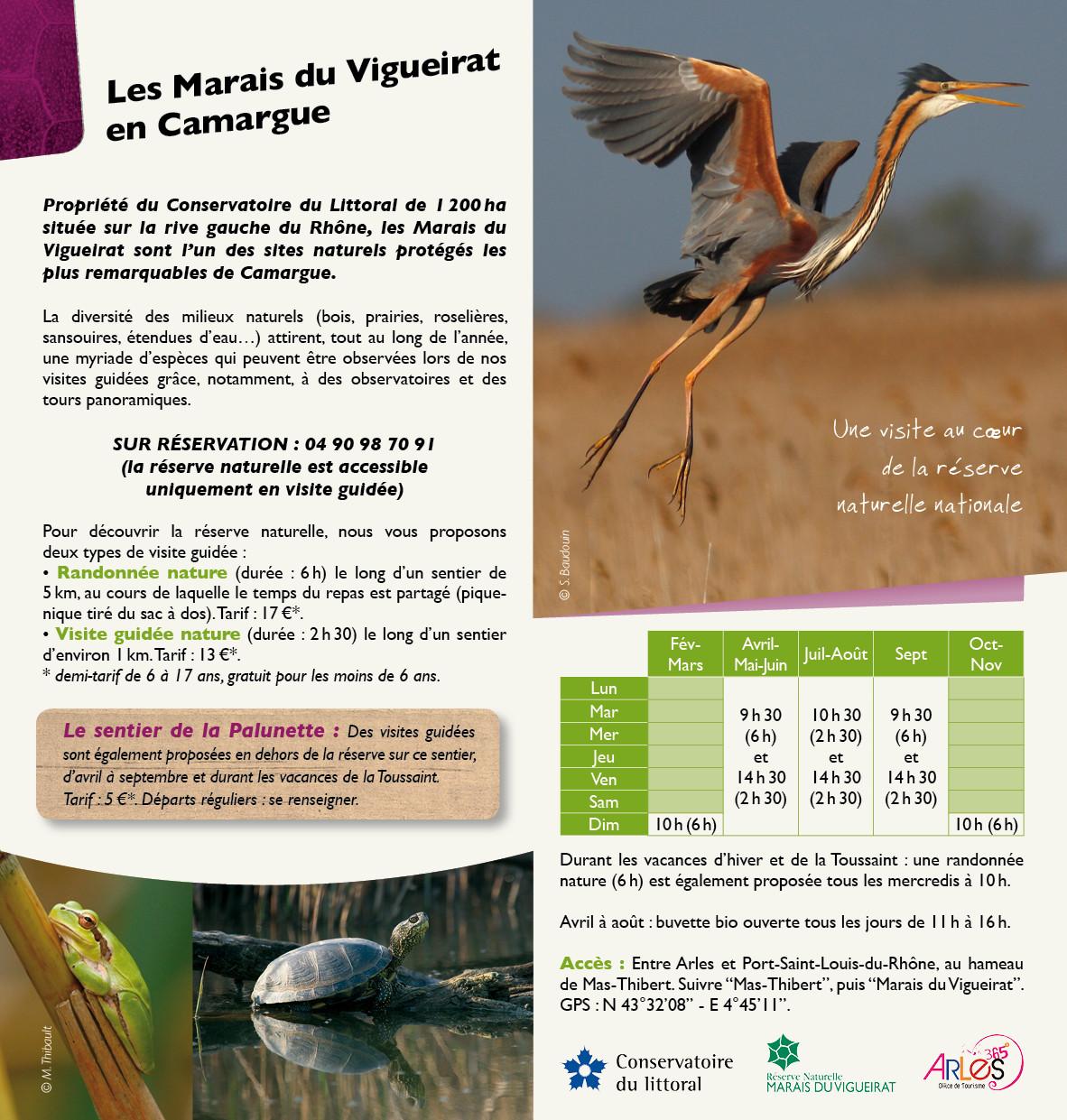 Brochure 16 pages de présentation des sorties nature - Bureau des guides naturalistes - 2014