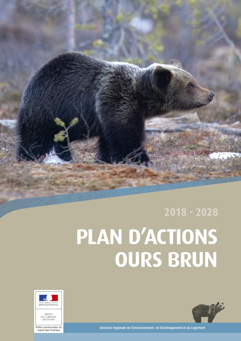 Rapport 90 pages PNA Ours brun dans les Pyrénées 2018 - DREAL Occitanie