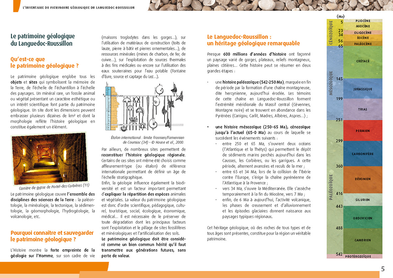 Brochure A5 - Présentation de l'inventaire géologique LR - DREAL LR - 2013