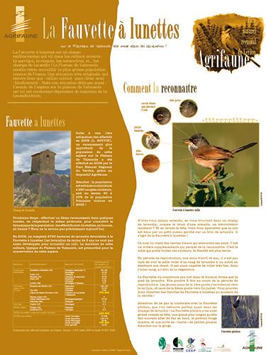 Exposition sur les espèces rares et protégées du Verdon et exposition agrifaune - Parc naturel régional du Verdon - 2009