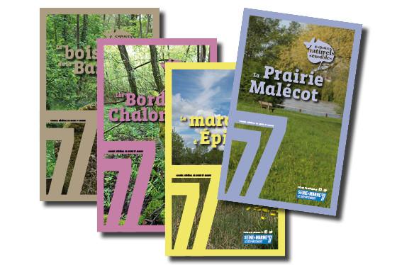 Brochures de présentation des ENS de Seine-et-Marne - CG77 - 2013/2014