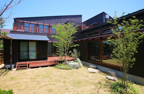 鎌倉の和モダン邸宅 外観②