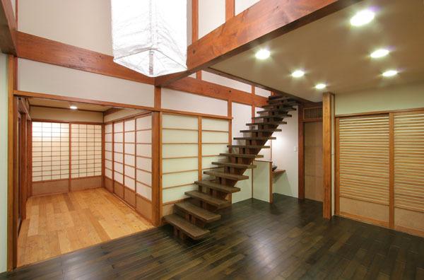 鎌倉の和モダン邸宅 LD④