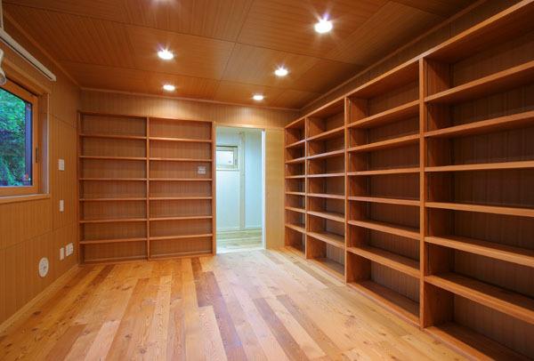 鎌倉の和モダン邸宅 書斎