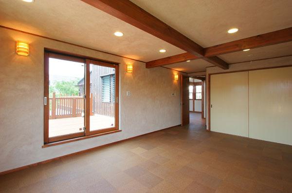 鎌倉の和モダン邸宅 寝室
