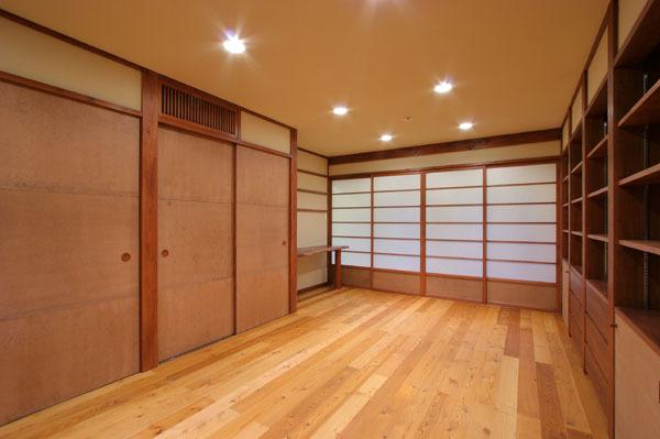鎌倉の和モダン邸宅 寝室②