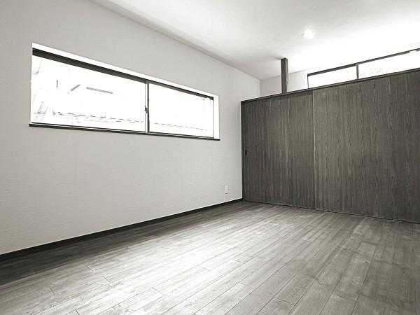 耐震SE構法の現代民家 寝室