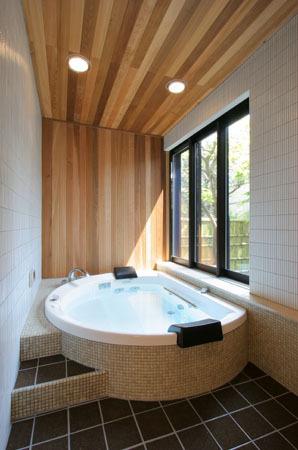鎌倉の和モダン邸宅 浴室
