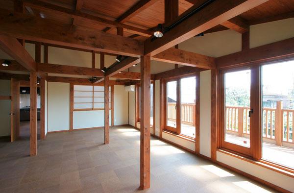 鎌倉の和モダン邸宅 フリースペース