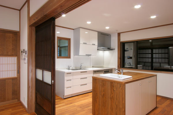 純和風民家 キッチン