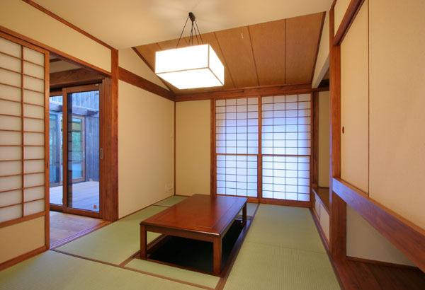 鎌倉の和モダン邸宅 和室