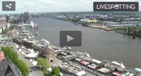 Livecam Hamburger Hafen