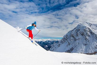 Alpine Skifahrerin - © michelangeloop - Fotolia.com