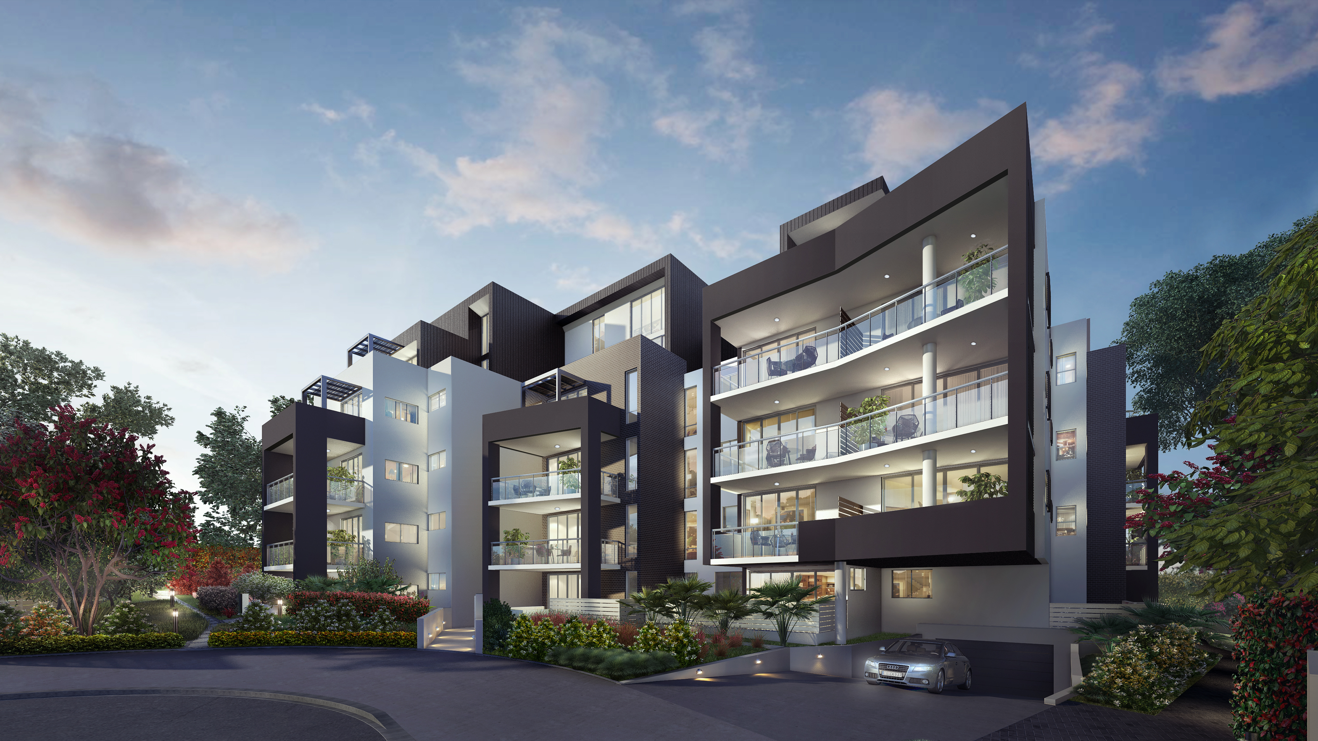 Emerald Apartments, Epping