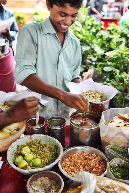 Street food vendor*