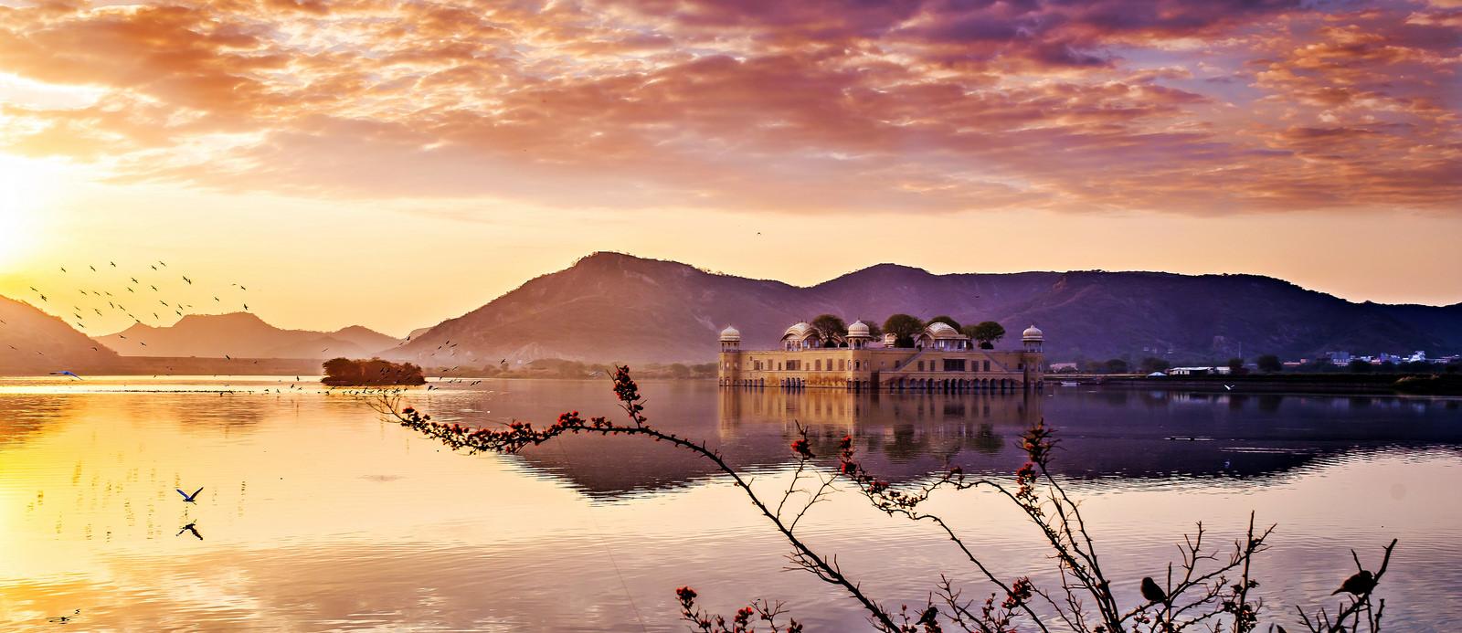 Jal Mahal at sunrise*