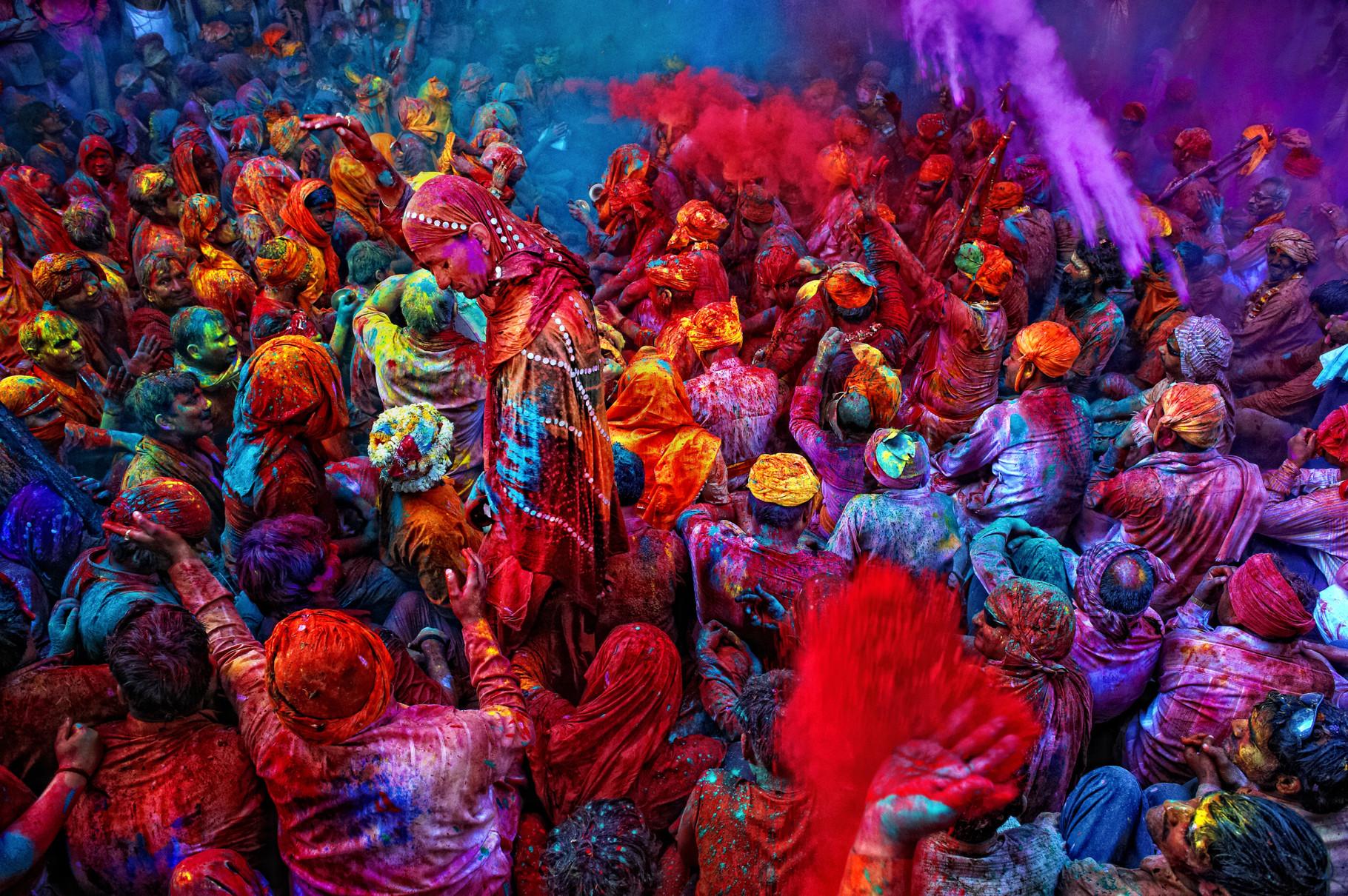 Holi festival*
