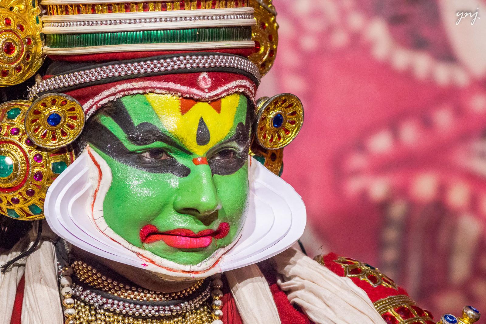 Kathakali dancer*