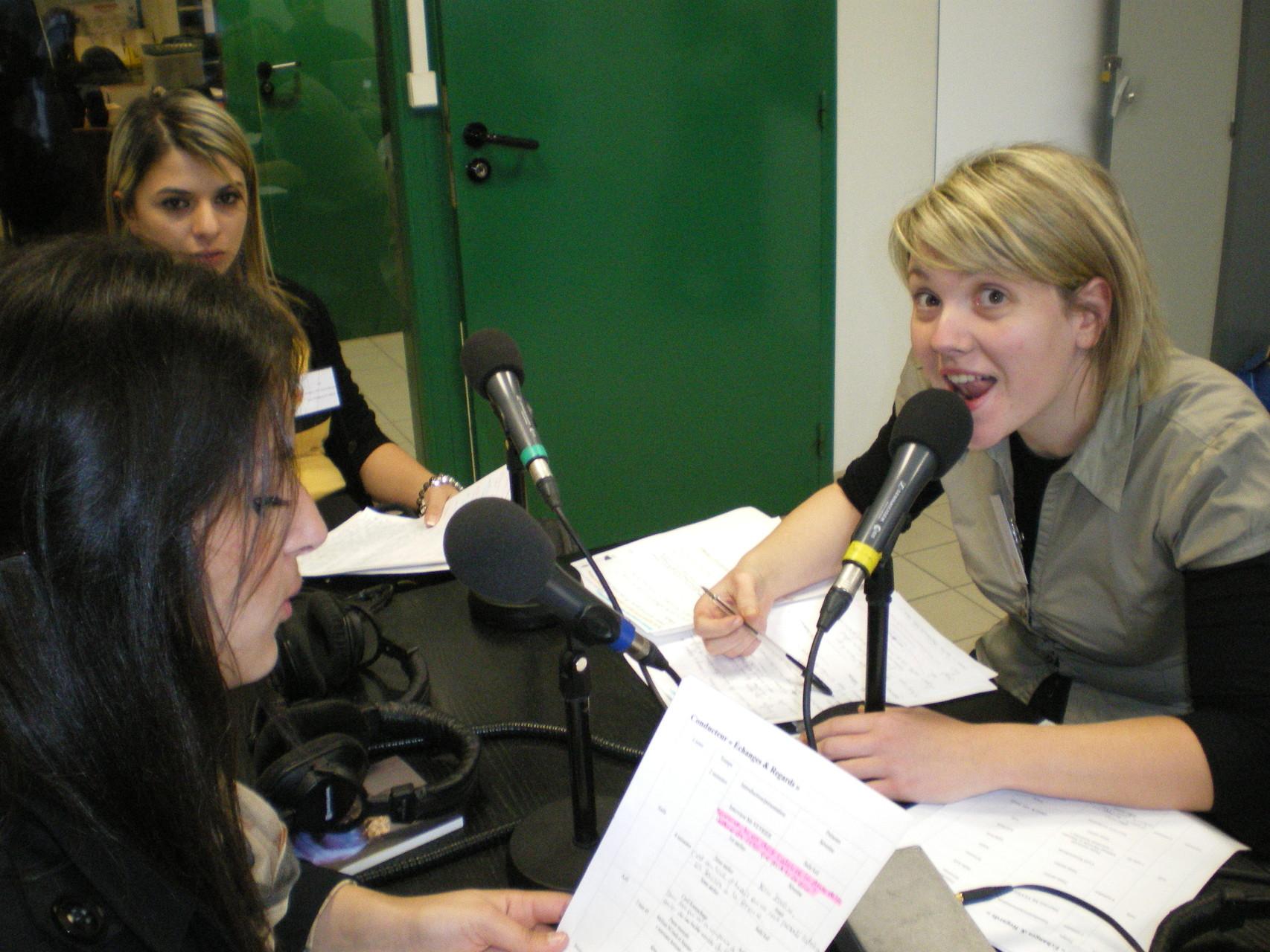 Enregistrement émission Radio-Méga