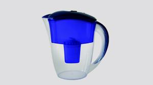 Aquaspace Filtertechnologie für basisches Wasser, die Aquaspace Tisch-Karaffe