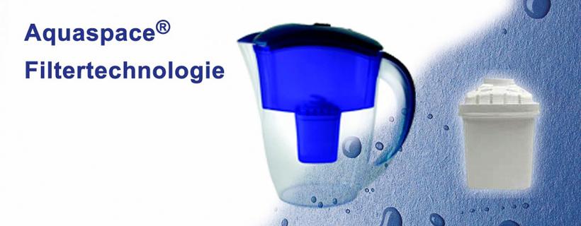 Aquaspace Filtertechnologie für basisches Wasser