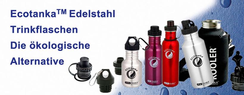 ECOtanka Edelstahlflaschen Sortiment