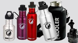 Ecotanka verschiedene Edelstahlflaschen