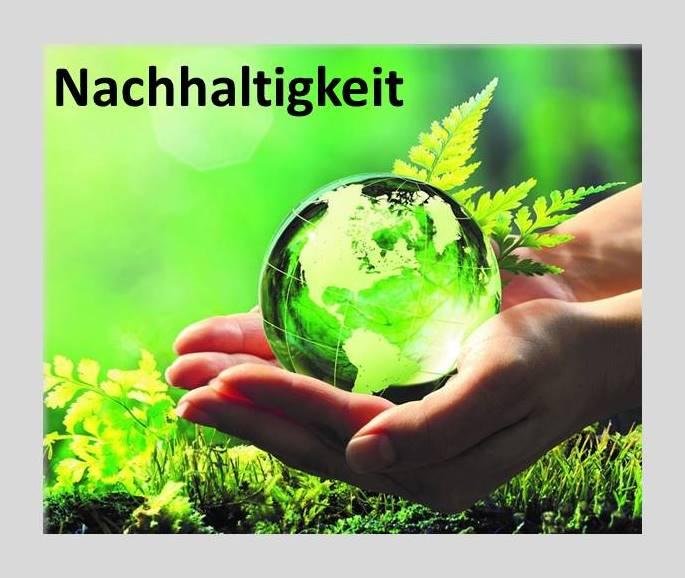 Nachhaltigkeit auch ein Thema für Dich?