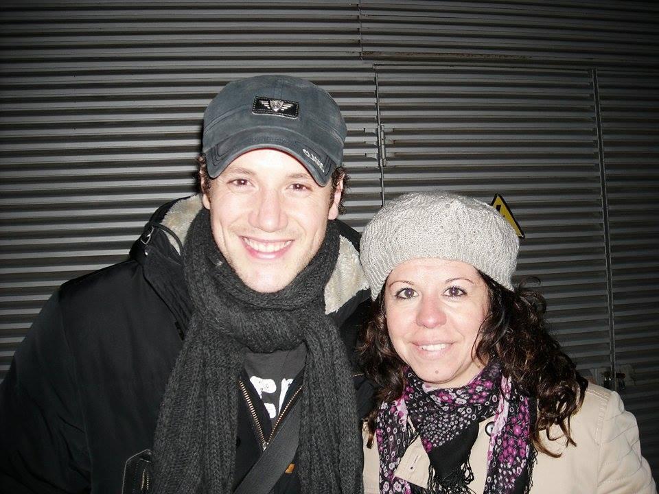 Isabel Campos - con Dani en Zaragoza...
