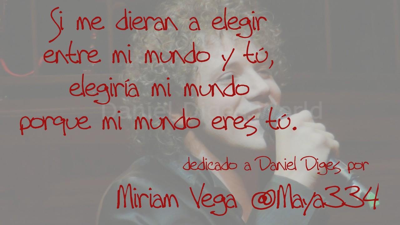 Miriam - mi poema dedicado a Dani