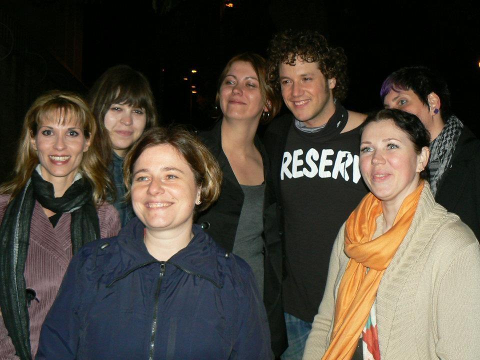 Dani y sus fans europeas