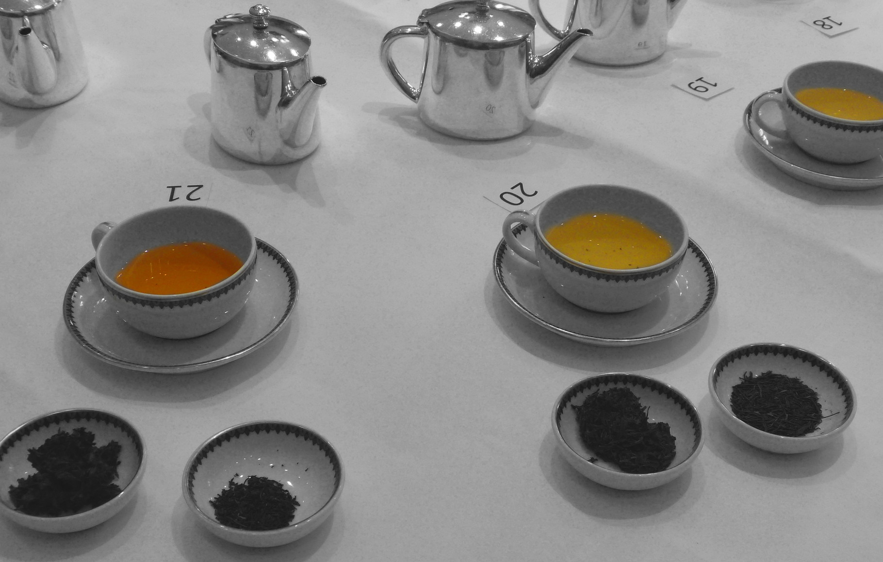 Teesorten unterscheiden
