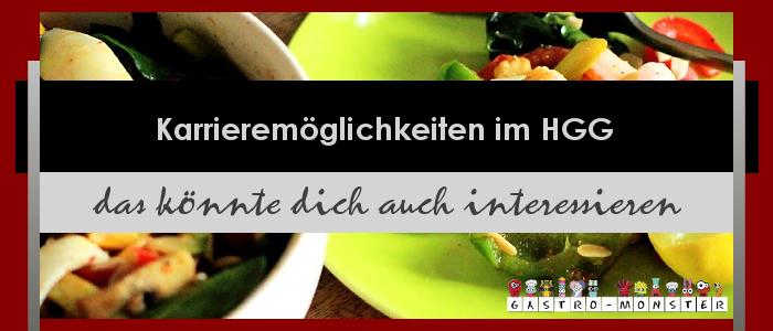 Karrieremöglichkeiten Gastronomie