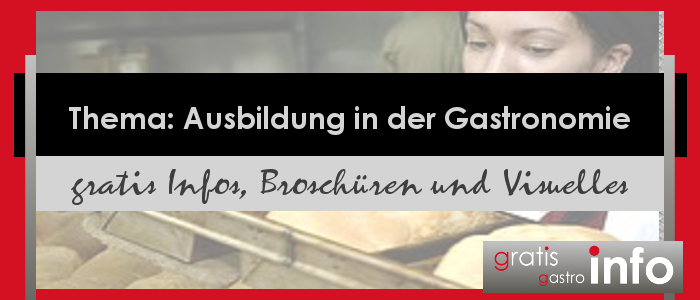 Infos Ausbildung Gastronomie