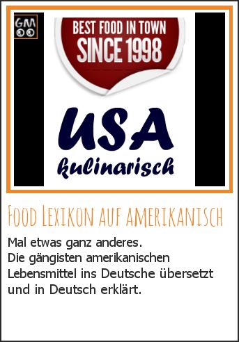 Food Lexikon auf Amerikanisch