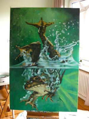 Acryl auf Leinwand, 150x100cm, 2014