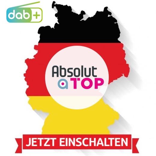 Neue Hook-Promos für deutschlandweiten DAB+ Sender ABSOLUT TOP