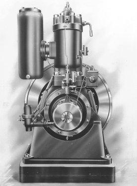ELLVE-motorn tillverkades under åren 1913-1919. Foto: Stig Wallström