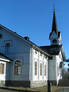 Ljusne kyrka 2010 - okänt fotograf
